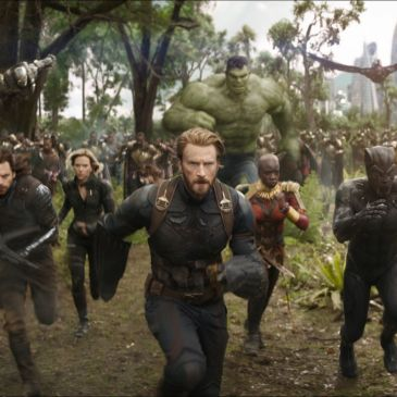 Infinity War battle in Wakanda